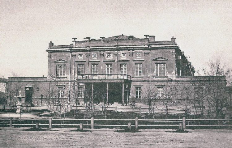 первое здание киевской оперы, опера, Киев, опера Киева