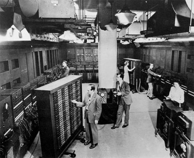 фишки дня, первый микропроцессор, первый компьютер, Intel