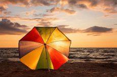 характер по зонтику