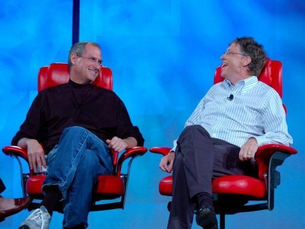 Стив Джобс, Билл Гейтс