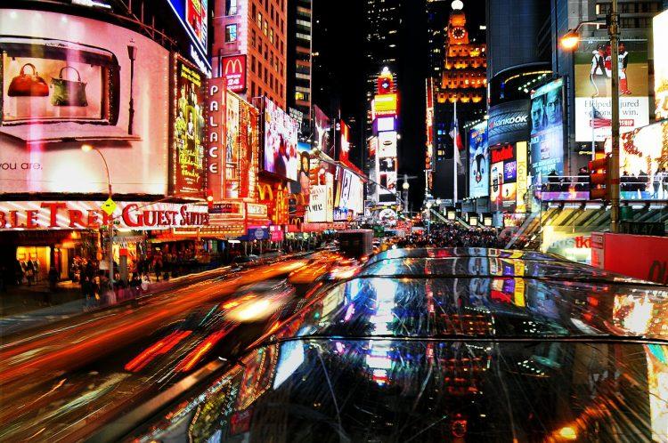 что делать 7 дней в Нью-Йорке, гуд по Бродвею, Бродвей, США