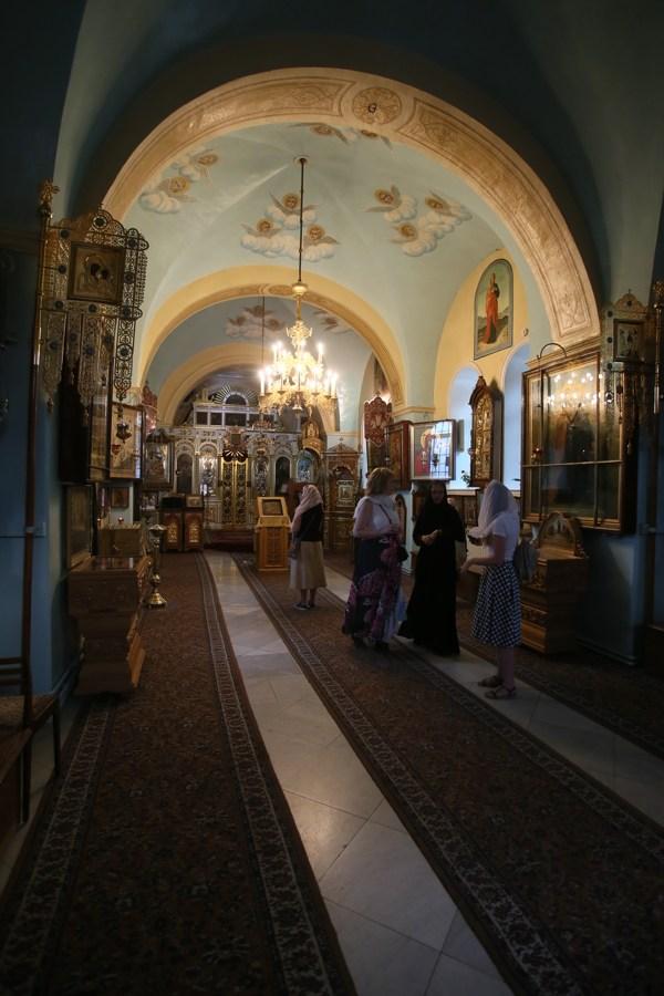 Горненский монастырь. Проект Паломники