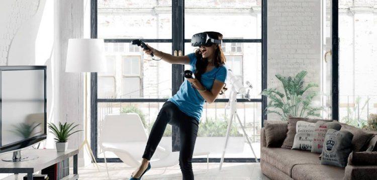 VR, виртуальная реальность, дом, танец