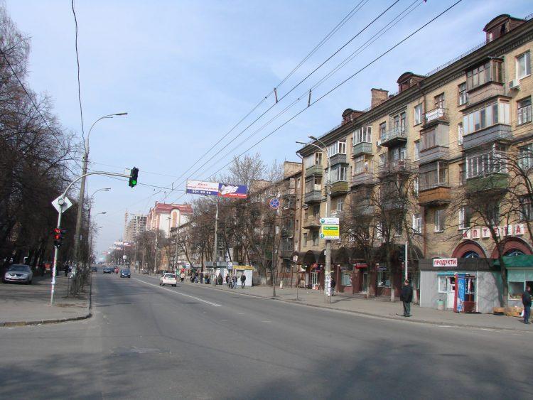 Киев, Улица Даниила Щербаковского