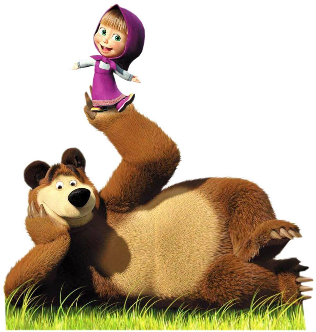 Картинки медведь из мультфильмов