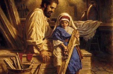 святой иосиф обручник, иисус христос, детство христа