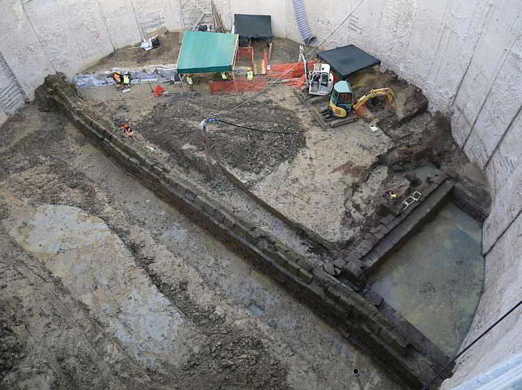 археология, Новости археологии, Рим, старейший акведук