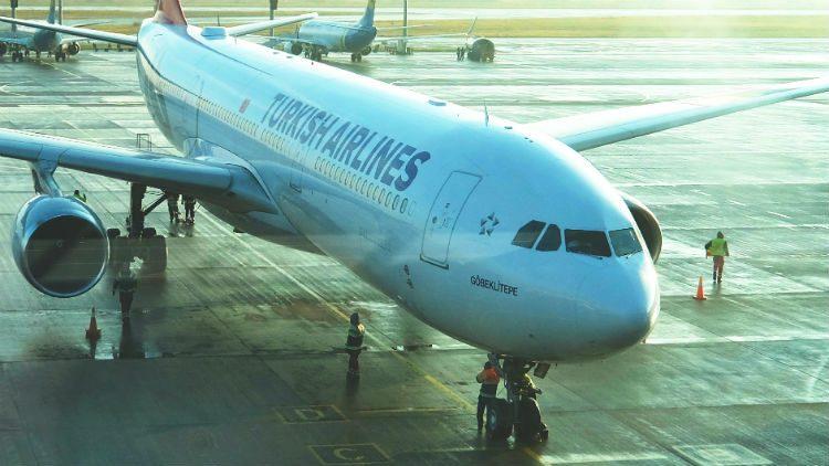 самолет, турецкие авиалинии, Гебекли Тепе