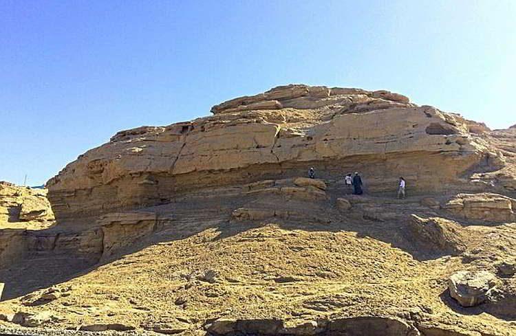 Новости археологии, скала, иероглифы, Египет, Эль Халли