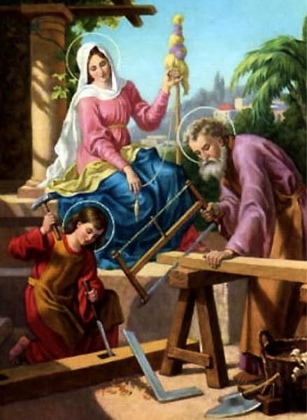 Иосиф Обручник, плотник, Христос