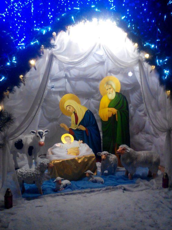 Рождество Христово, рождественский вертеп, Рождество, православие