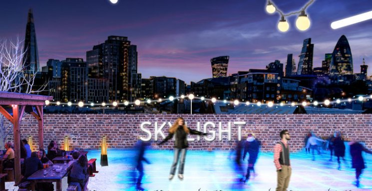 фишки дня - 16 января, день ледовара, каток, каток на крыше в Лондоне