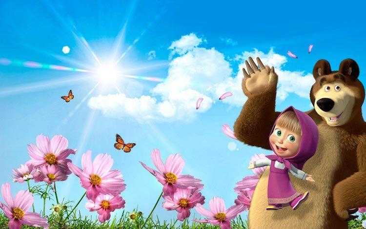 маша и медведь, сериал, картинка из фильма