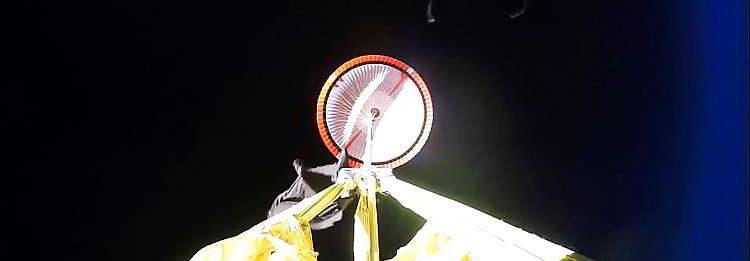 космонавтика, Новости космоса, парашют в космосе