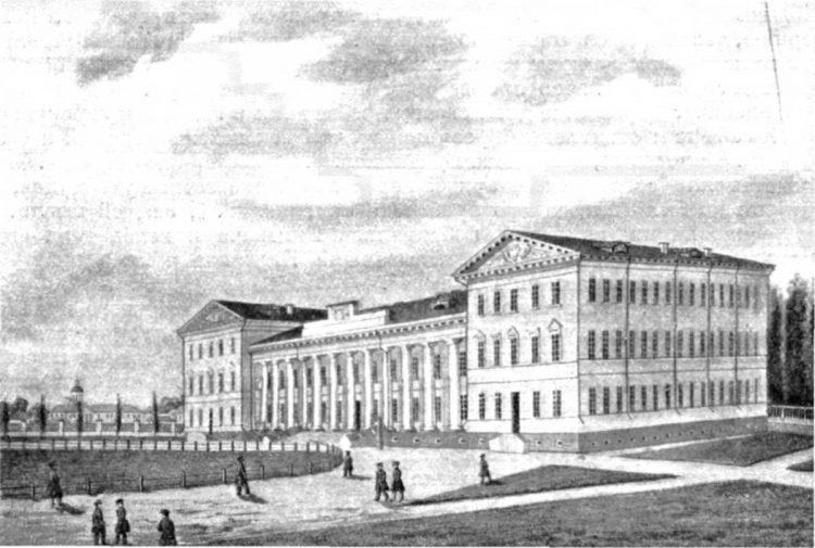 Нежинской гимназии высших наук, Гребинка