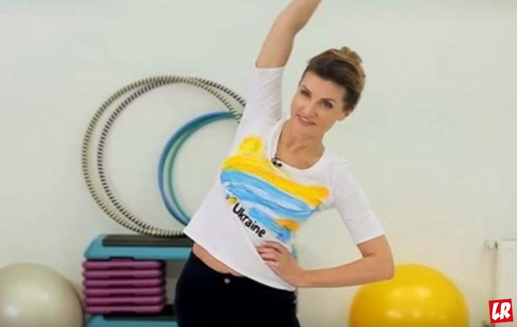 фишки дня, Марина Порошенко, гимнастика