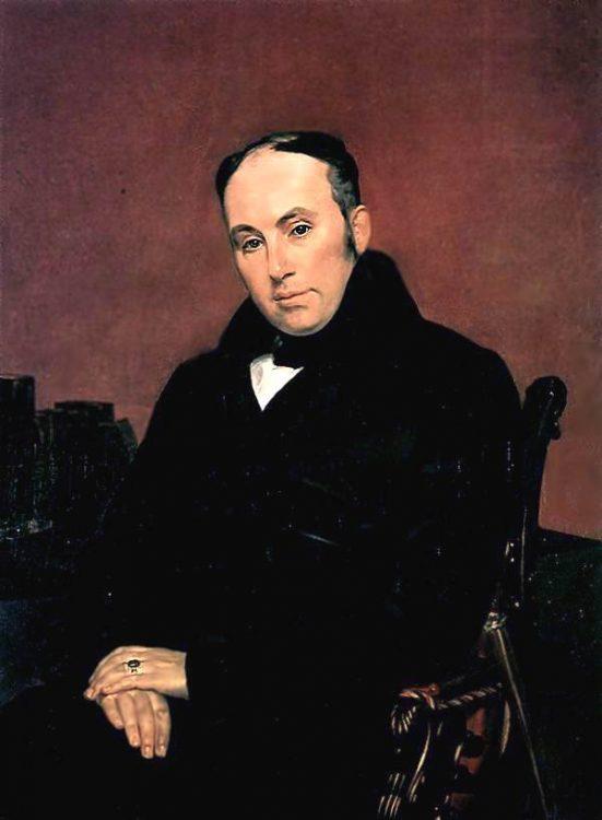 портрет Жуковского, Брюллов