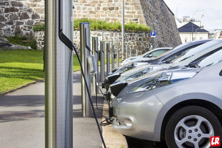 электромобиль, электрокар, электрическая заправка, зарядка