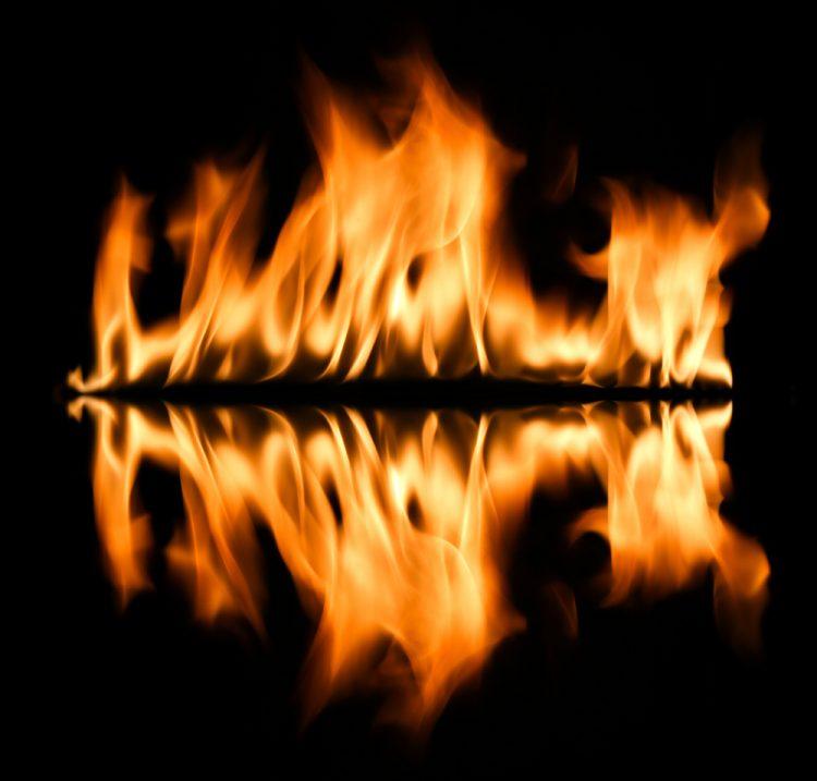 Смартфон для ангела, Адова купель, пламя, ад