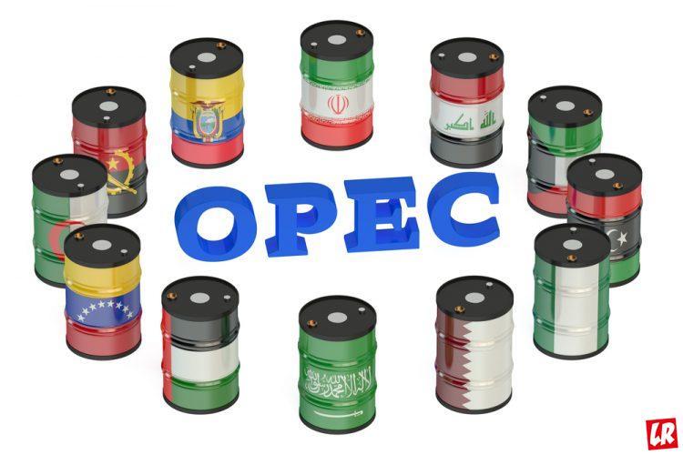 опек, страны опек, нефть, флаги стран опек