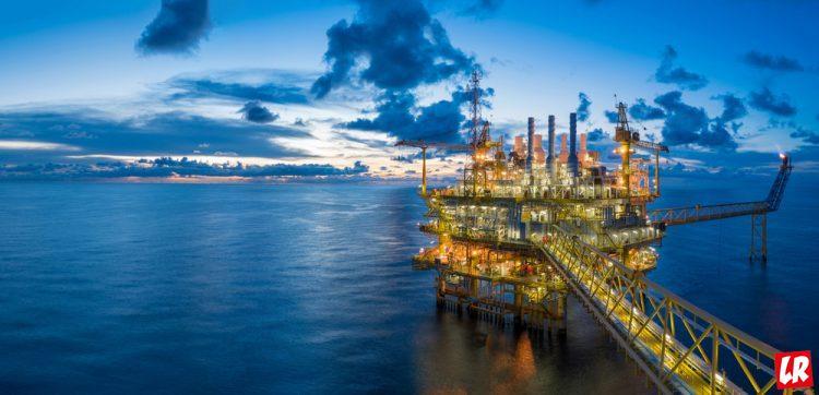 нефть, платформа, нефтяная скважина в море, нефтяная вышка