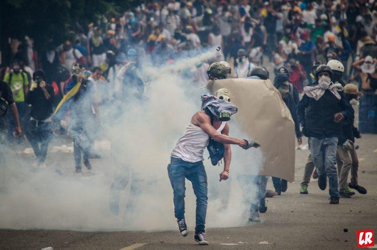 Венесуэла, Каракас, протесты