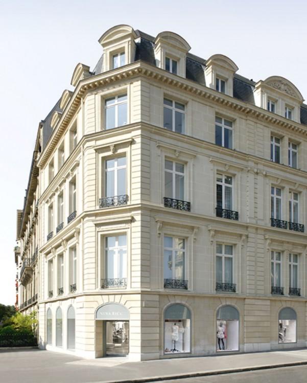 Нина Риччи, здание в Париже