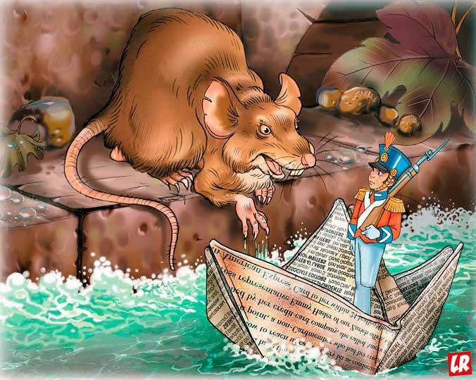 Андерсен, биография Андерсена, сказка, Стойкий оловянный солдатик, крыса