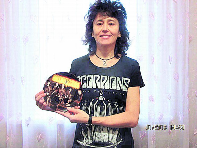 Скорпионс, Scorpions, фанатка Scorpions