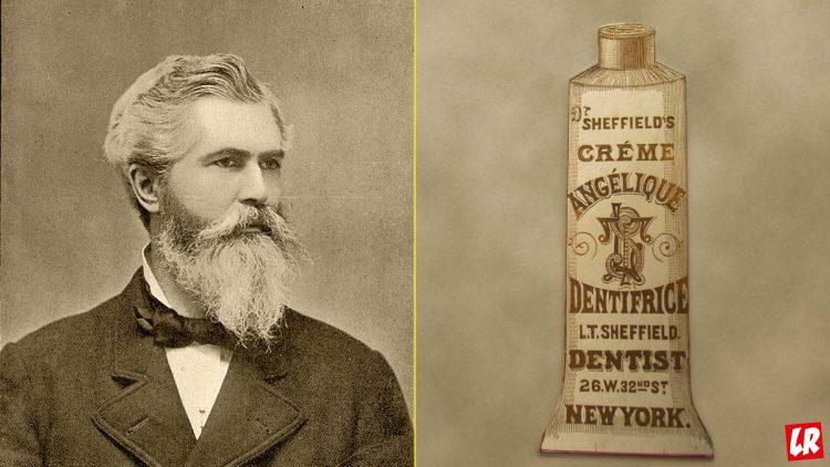 зубная паста, изобретатель тюбика, Шеффилд