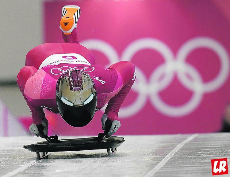 Олимпиада-2018, скелетон, железный человек