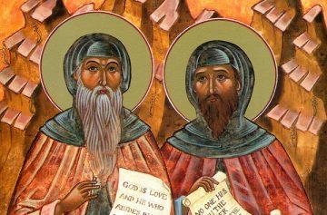 Варсонофий Великий, Иоанн Пророк, икона