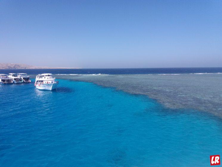Отдых в Хургаде, корабль, морская прогулка