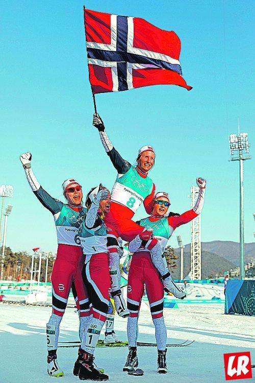 Норвегия, победа, Олимпиада-2018
