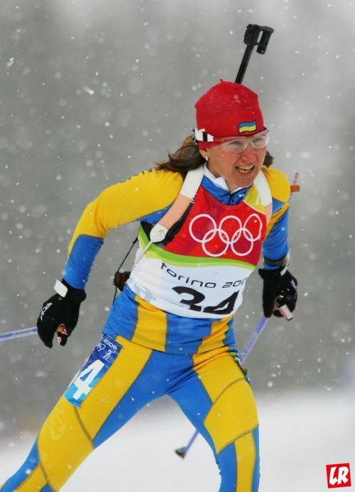 Олимпийские медали, Елена Петрова, Нагано, биатрон, серебряная медаль