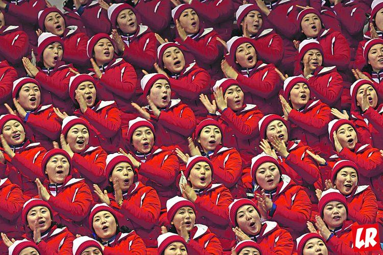 Олимпиада-2018, чирлидинг, Корея