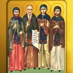 фишки дня, преподобный Ксенофонт, святые Аркадий и Иоанн