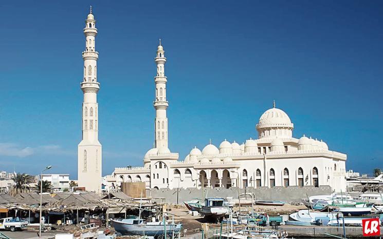 Отдых в Хургаде, мечеть Эль-Мина