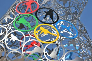 Олимпиада, зима, значки, логотип