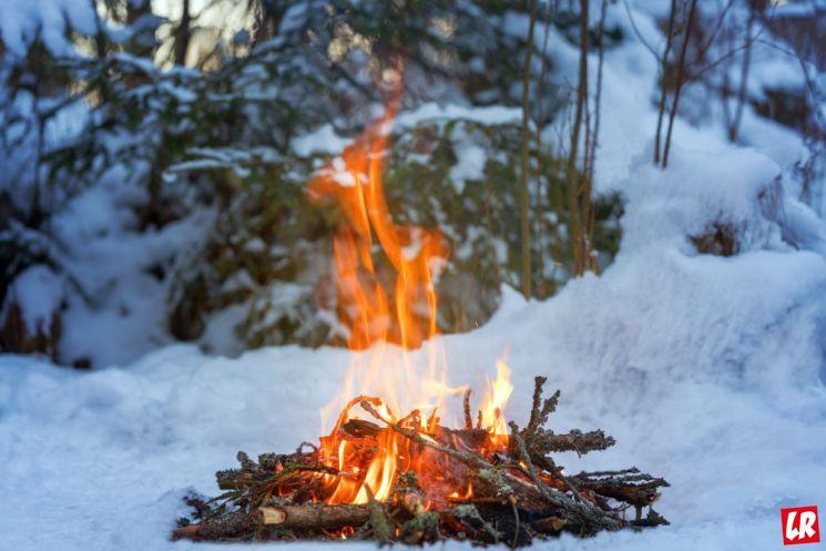 Как научиться прощать, огонь, костер, снег, релакс