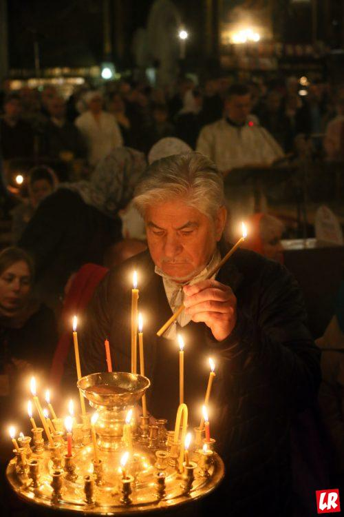 Родительская суббота, церковь, свечи