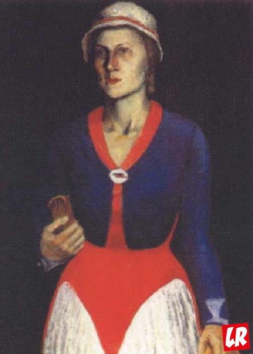 жена Малевича, София Рафалович