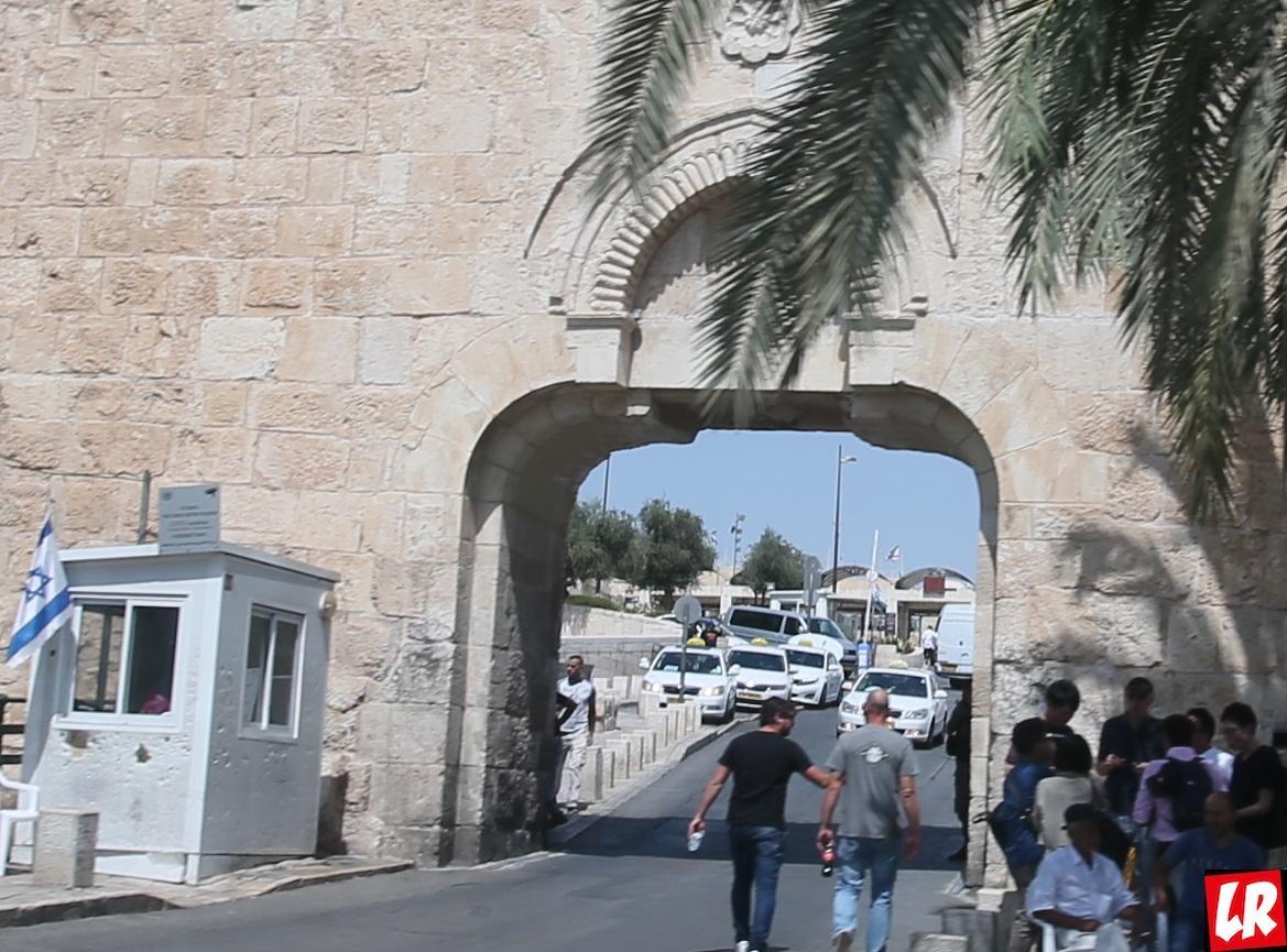 """Иерусалим, Ворота, спецпроект """"Паломники. Святая Земля"""""""