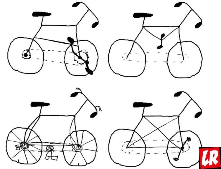 Ребекка Лоусон, эксперимент, велосипед