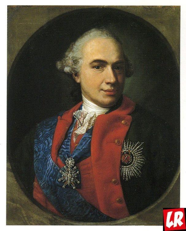 Кирилл Разумовский, портрет, красавец