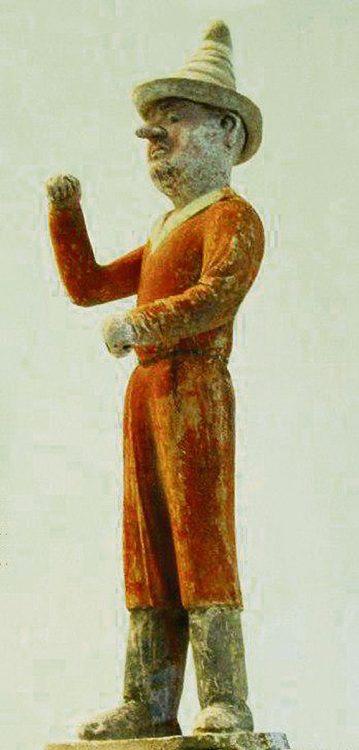 Раданит, Китайская статуэтка, специи, история специй