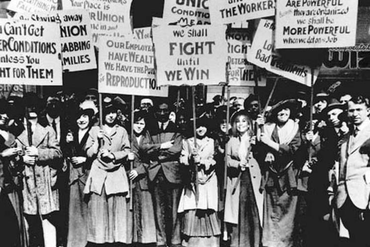 фишки дня - 8 марта, Международный женский день, 8 марта, марш пустых кастрюль