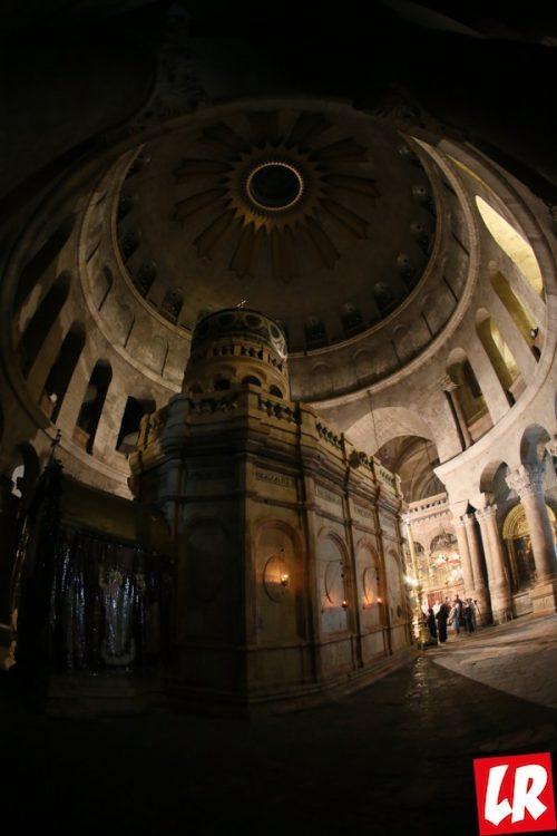 Иерусалим, Крестный путь Христа, Храм Воскресения Христова в Иерусалиме, кувуклия, Гроб Господень
