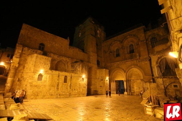 Пасха, Иерусалим, Крестный путь Христа, Храм Воскресения Христова в Иерусалиме