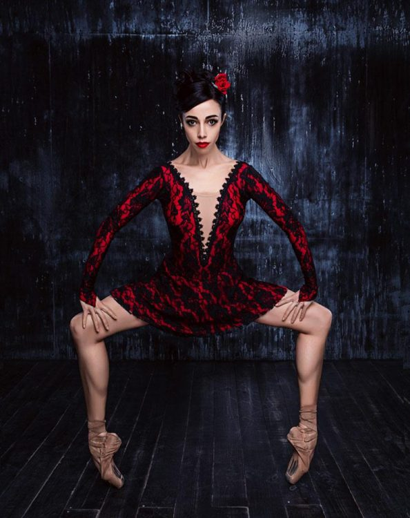 балерина Екатерина Кухар, афиша на сентябрь 2020, опера, Киев, балет, Кармен-сюита